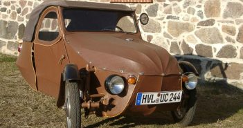 """Velorex - czechosłowacki trójkołowy """"samochód"""""""