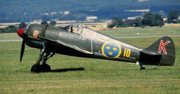 Szwedzki myśliwiec FFVS J 22