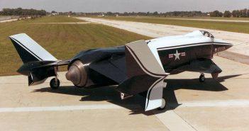Rockwell XFV-12 - eksperymentalny naddźwiękowy myśliwiec VTOL