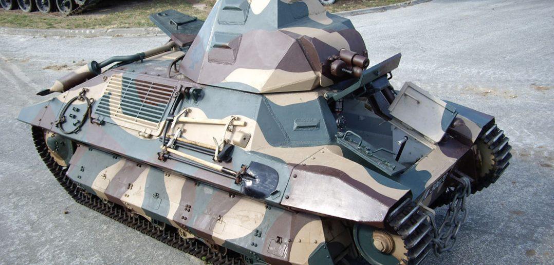 Francuski czołg lekki FCM 36
