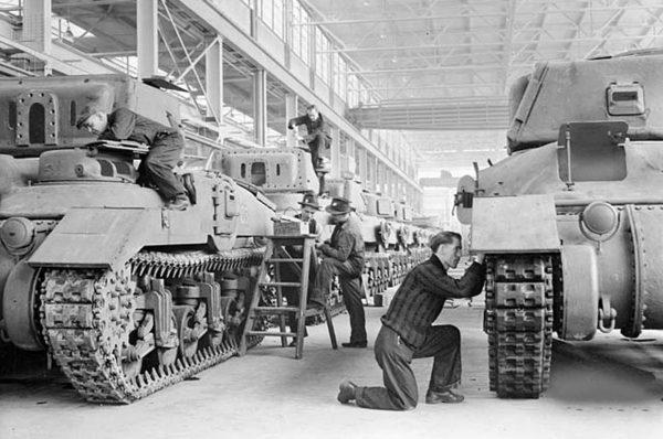 Produkcja czołgów Ram