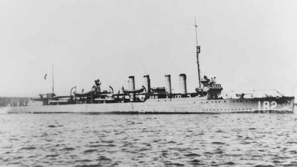 USS Thomas - późniejszy HMS St. Albans