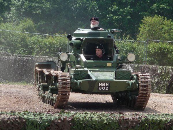 Mk I Matilda A11 (fot. Simon Q/Wikimedia Commons)