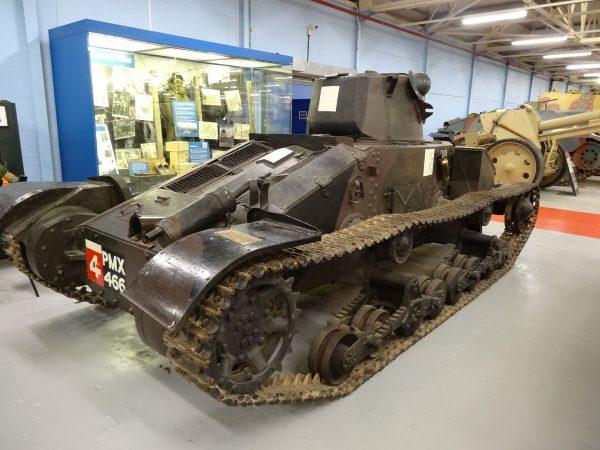 Mk I Matilda A11 (fot. Jonathan Cardy /Wikimedia Commons)