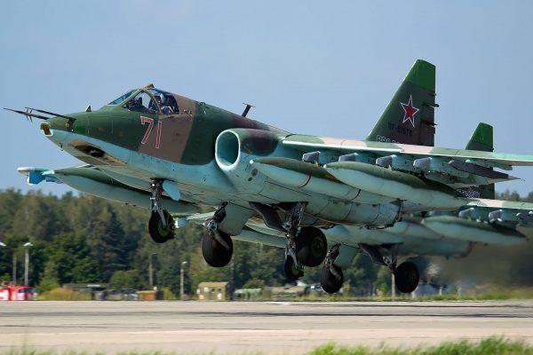 Suchoj Su-25 (fot. Alex Beltyukov/Wikimedia Commons)