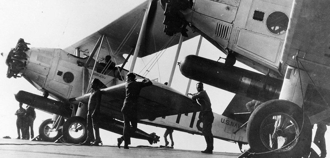 Martin T4M - ostatni dwupłatowy bombowiec torpedowy US Navy
