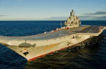 Admirał Kuzniecow - jedyny rosyjski lotniskowiec