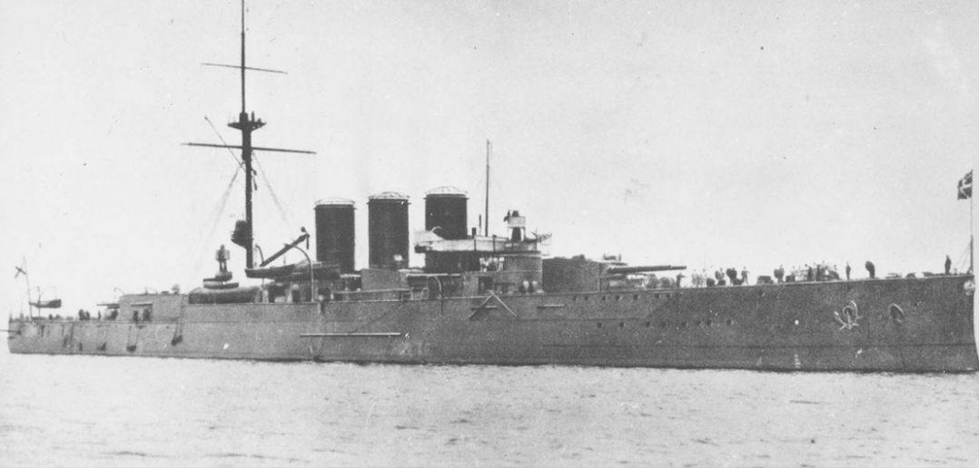 Jedyny w swoim rodzaju - krążownik pancerny Ruryk