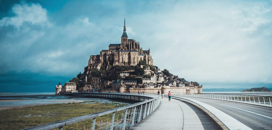 Niesamowita wyspa Mont Saint-Michel