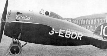 Wyścigowy Bristol Racer z 1922 roku