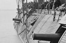 USS Galena - jeden z pierwszych amerykańskich okrętów pancernych