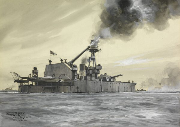 HMS Lord Clive (fot. Oscar Parkes)