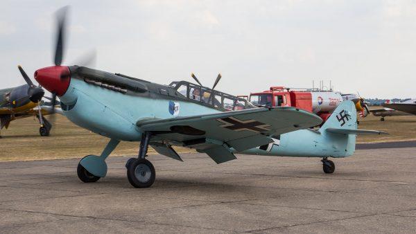 Hispano Aviación HA-1112M4L (fot. Steve Lynes)
