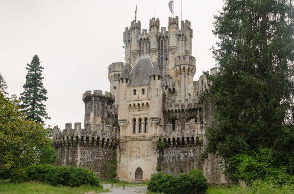 Zamek Butrón w 2017 roku (fot. Ander Abadia Zallo)