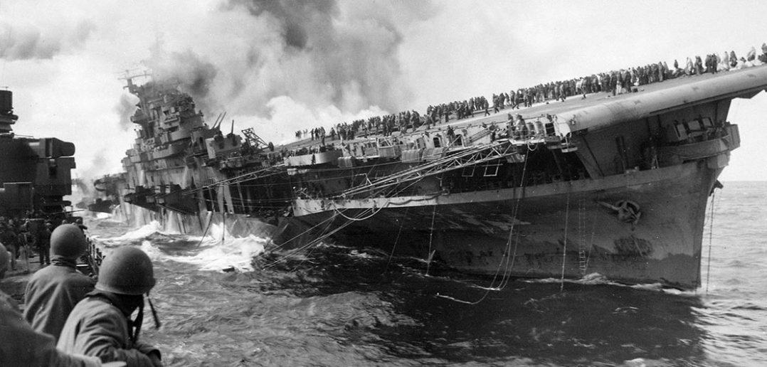 USS Franklin (CV-13) - zapomniany weteran