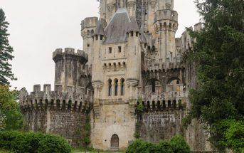 Opuszczony zamek Butrón