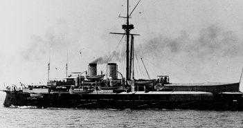 SMS Kronprinz Erzherzog Rudolf - ostatni Austro-Węgierski okręt pancerny