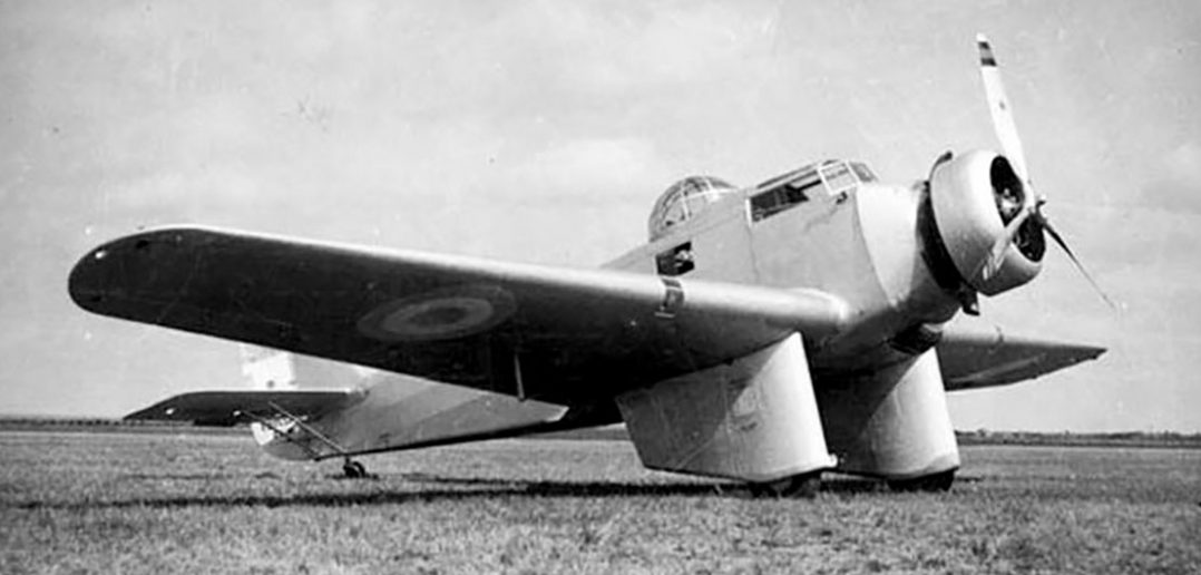 Argentyński bombowiec FMA Ae.M.B.1/2