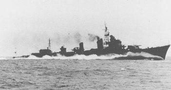 Eksperymentalny japoński wielki niszczyciel Shimakaze