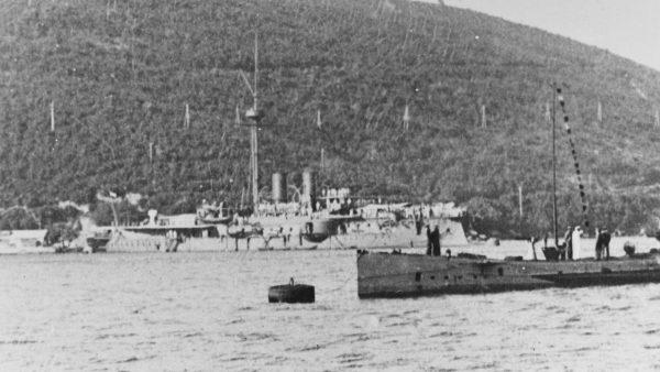 SMS Kronprinz Erzherzog Rudolf w 1915 roku