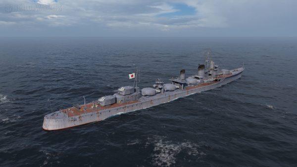 Shimakaze w grze World of Warships