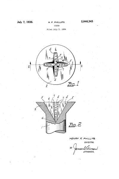 Jeden z patentów Phillipsa