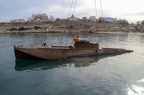 Wrak kutra torpedowego typu G-5