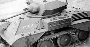Brytyjski czołg lekki A25 Mk VIII Harry Hopkins