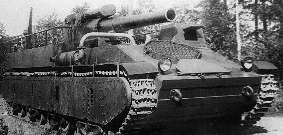 Radzieckie działo samobieżne SU-14
