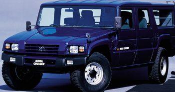 Toyota Mega Cruiser - japoński Hummer