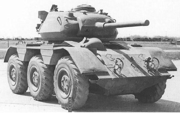 M38 Wolfhound z wieżą czołgu M24