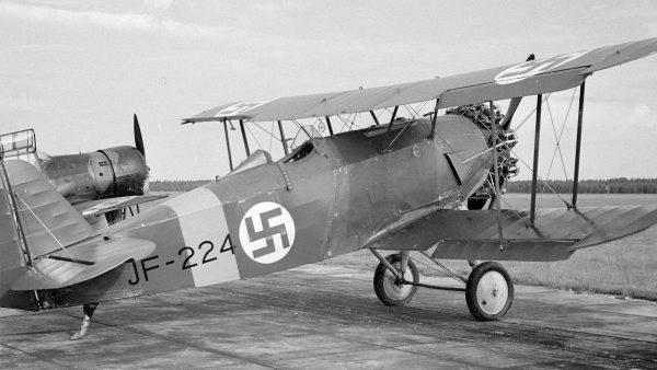 Fiński Svenska Aero Jaktfalken