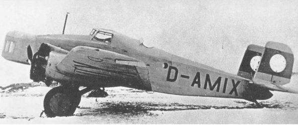 Prawdopodobnie kolejna wersja rozwojowa Junkersa K 37