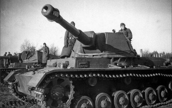 Prototypy samobieżnej haubicy z działem kalibru 105 mm