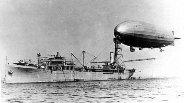 USS Shenandoah i USS Patoka