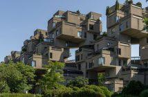 Niesamowity kompleks mieszkalny Habitat 67