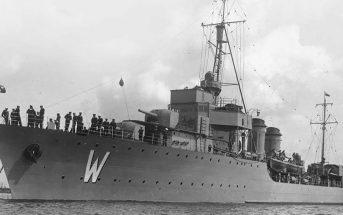 ORP Wicher - pierwszy nowoczesny okręt II RP
