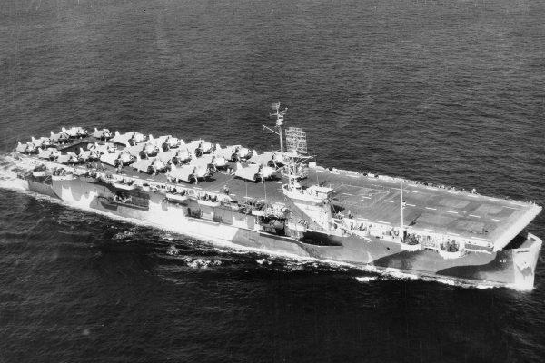 USS Guadalcanal - jeden z lotniskowców typu Casablanca