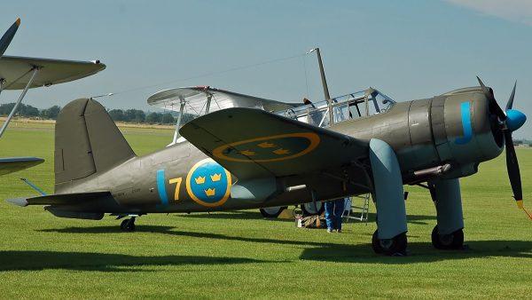 Saab 17 (fot. Kogo/Wikimedia Commons)