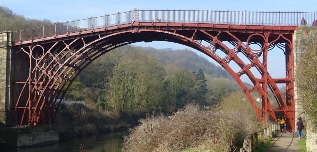 Iron Bridge - pierwszy na świecie całkowicie żelazny most