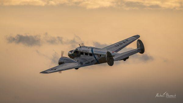 Beechcraft C-45H Expeditor (OK-BSC) (fot. Michał Banach)