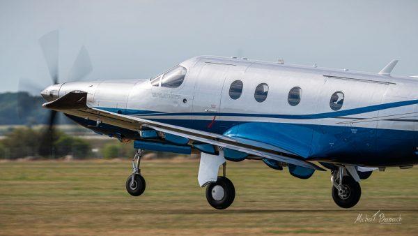 Pilatus PC-12/47E (D-FEFY) (fot. Michał Banach)