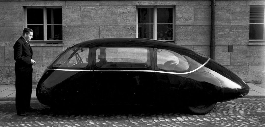 Schlörwagen - aerodynamiczny samochód z 1939 roku