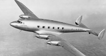 Zapomniany De Havilland DH.91 Albatross