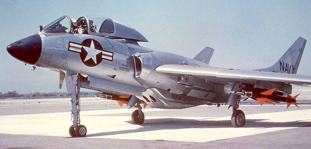 Zapomniany Vought F7U Cutlass