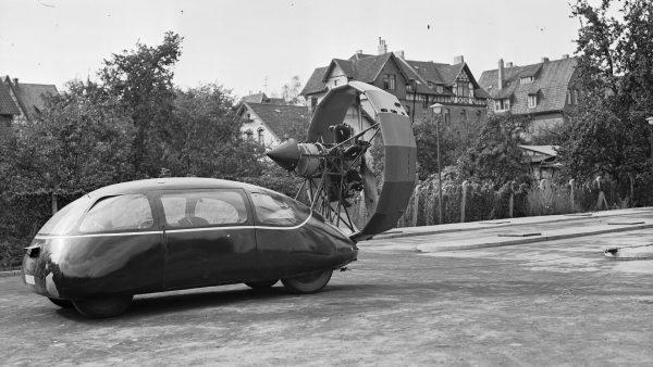Schlörwagen w 1942 roku (fot. DLR German Aerospace Center)