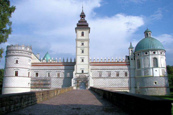 Zamek w Krasiczynie (fot. Andrzej Gondek/Wikimedia Commons)