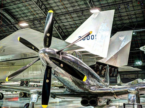 Fisher P-75A Eagle (fot. Alvintrusty/Wikimedia Commons)