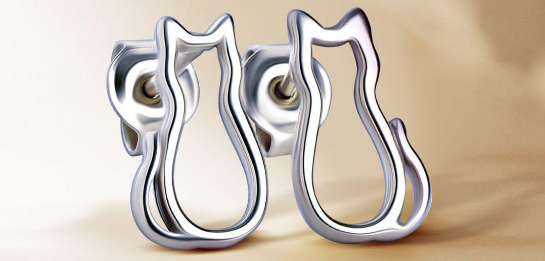 Jak wyczyścić srebrne kolczyki?