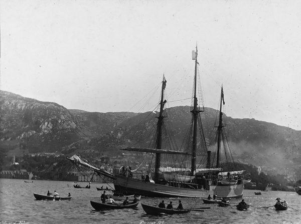 Fram podczas pierwszej ekspedycji